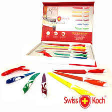 SwissKoch 6 delig color Messenset